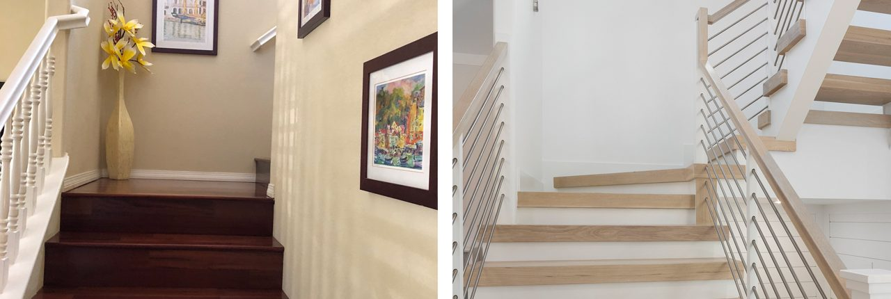SHI - Stairwell Before and After